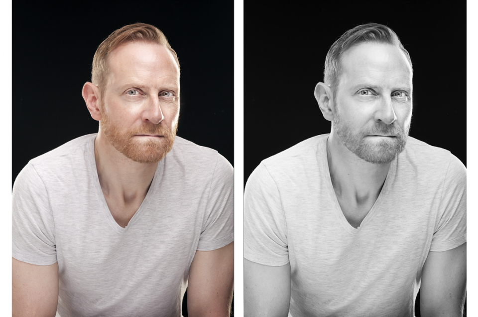 Headshoots the studio for Actors in Edinburgh